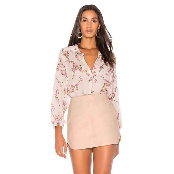 Karina Grimaldi Dresses & Skirts - Karina Grimaldi Red Leather Skirt, NWT